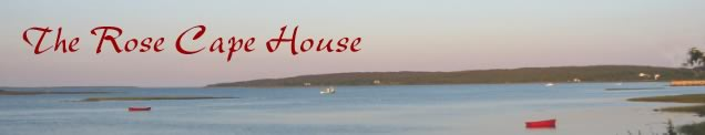 The Rose Cape House banner.